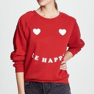 "Zoe Karssen ""Le Happy"" oversized sweatshirt"